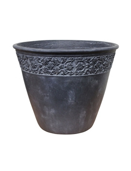 Garland Planter   Slate by Homebase