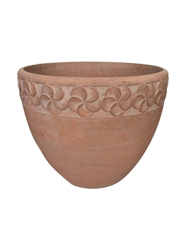 Northcote Pottery Avoca Egg Plant Pot   Terracotta / 28cm by Homebase