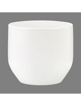 Scheurich Panna Curved Pot   13cm by Homebase
