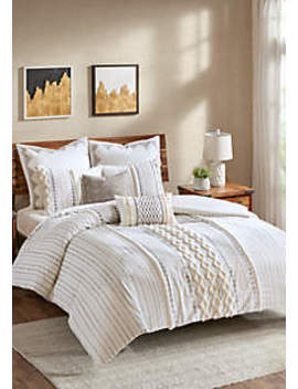 Imani Cotton 3 Piece Comforter Mini Set by Ink + Ivy