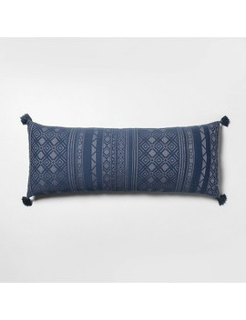 Oversized Oblong Pillow Navy   Hearth &Amp; Hand With Magnolia by Hearth & Hand With Magnolia