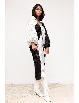Before March Lennon Bias Skirt   Panelled Spot by Garmentory