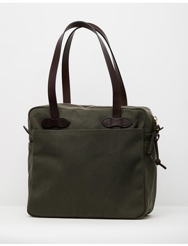 Tote Bag With Zipper by Filson