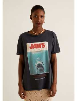 T Shirt Les Dents De La Mer by Mango