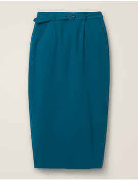 Christina Belted Skirt by Boden