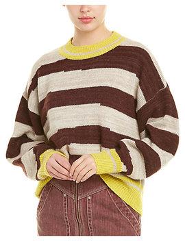 Étoile Isabel Marant Glowy Striped Alpaca Wool Sweater by Isabel Marant