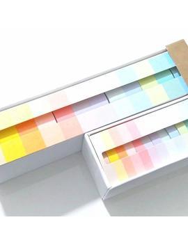 12 Pastel Washi Tape Set   Pink   Blue   Green   Macaron   Deco Masking Tape by Etsy