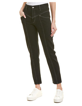 Étoile Isabel Marant Lorricka High Waist Contrast Stitched Jeans by Isabel Marant