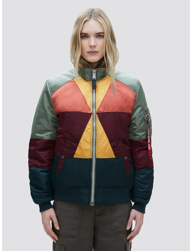 Ma 1 Mosaic Flight Jacket W by Alpha Industries