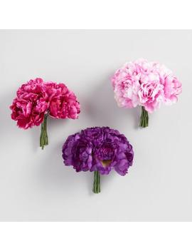 faux-peony-bundles-set-of-3 by world-market