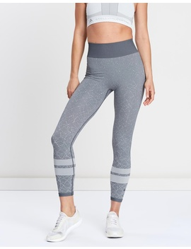Wanderlust Seamless High Rise 7/8 Tights by Adidas Performance