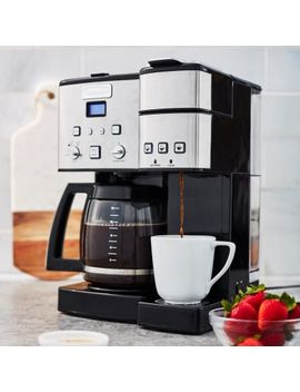 Cuisinart Coffee Center 12 Cup Coffee Maker And Single Serve Brewer by Sur La Table