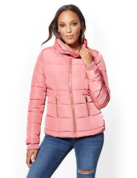 Quilted Jacket by New York &Amp; Company