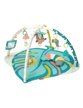 Infantino Go Gaga! 4 In 1 Twist &Amp; Fold Activity Gym &Amp; Play Mat   Tropical by In