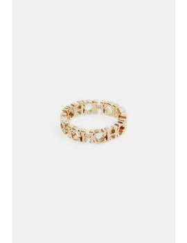 Between The Line Thin Ring by Ch Carolina Herrera