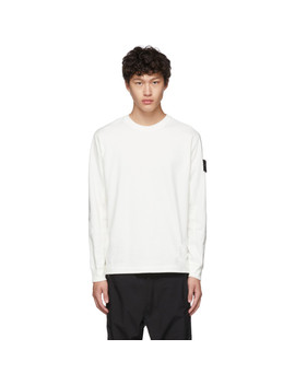 Off White Crewneck T Shirt by Stone Island