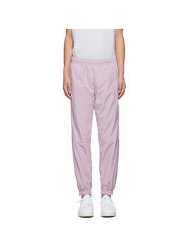 Purple Lock Up Lounge Pants by Adidas Originals
