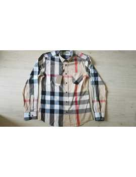 Brand New Burberry London Men's Casual Button Down Shirt by Burberry