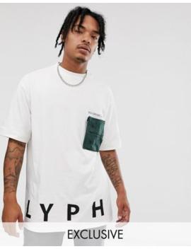 Lyph – T Shirt Mit Oversize Logo Und Cargo Tasche by Asos