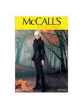 Mc Call's Pattern M7456 Seamed Jacket, Stirrup Leggings & Cape    Mc Call's Pattern M7456 Seamed Jacket, Stirrup Leggings & Cape by Joann