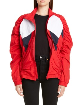 Paneled Ruched Track Jacket by Martine Rose