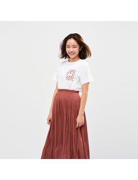 Ut The Brands Okashi T Shirt Graphique Femme by Uniqlo