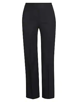Wool Cigarette Trousers by Alexander Mc Queen