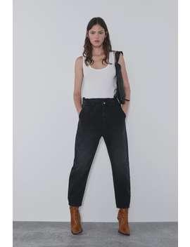 Z1975 Baggy Jeans With Pockets View All Denim Woman Cornershops by Zara