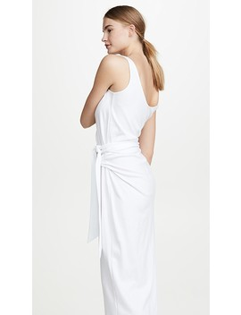 Sleeveless Wrap Dress by Vince