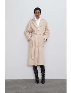Patch Pocket Coat Coatswoman by Zara