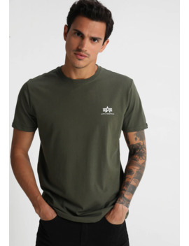 Basic Tee Small Logo   T Shirt Basic by Alpha Industries