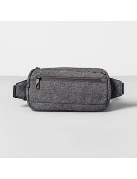 Anti Theft Rfid Hip Sling Pack   Gray   Made By Design by Gray