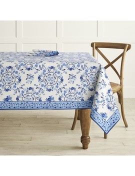 "Seville Tablecloth, 70"" X 108"" by Williams   Sonoma"