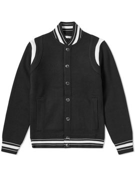 Givenchy 4 G Knitted Varsity Jacket by Givenchy's