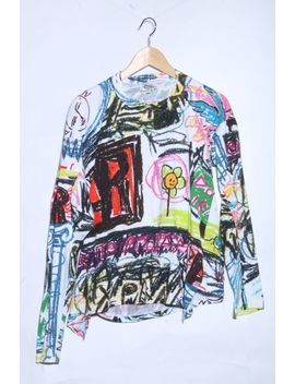 Man クレヨンスクイグル Long Sleeves T Shirt Vivienne Westwood (Vivien Waist Wood Vivian) by Rakuten Global Market