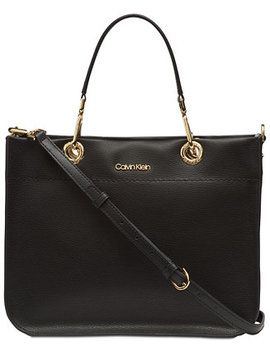 Sandra Leather Satchel by General
