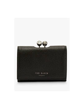 Ted Baker Suri Leather Mini Crystal Bobble Purse, Black by Ted Baker