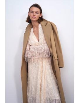 Fantazyjna Sukienka Średniej DŁugoŚci Zobacz Więcej Sukienki Kobieta by Zara