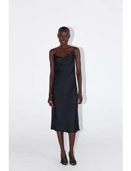 Sukienka Na RamiĄczkach W BieliŹnianym Stylu Zobacz Więcej Sukienki Kobieta by Zara