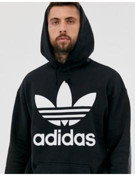 Adidas Originals Oversized Trefoil Hoodie by Adidas Originals