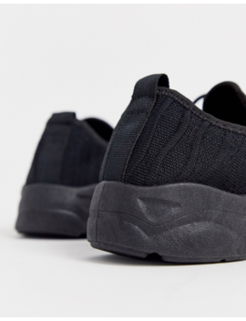 New Look Chunky Trainers In Black by New Look