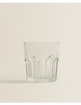 Transparent Glass Tumbler by Zara Home