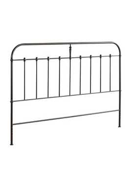 Darcey Black Iron Headboards by Pier1 Imports