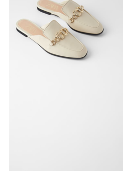 Leather Mule Loafers View All Shoes Woman by Zara