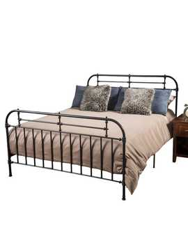 Camden Dark Gray Iron Queen Bed by Pier1 Imports
