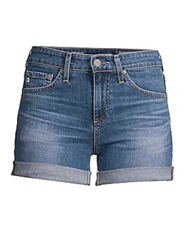 Hailey Cut Off Denim Shorts by Ag Jeans