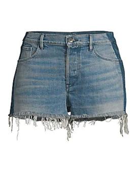 Mason Cutoff Jean Shorts by 3x1