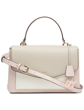 Lex Leather Top Handle Satchel, Created For Macy's by General