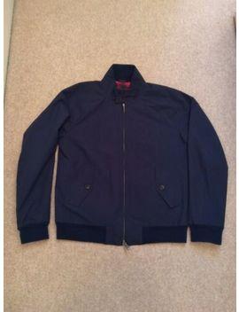 baracuta-g9-mens-navy-blue-harrington-jacket-size-40 by ebay-seller