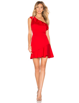 Kloe Ruffle Mini Dress by About Us
